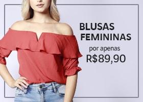Banner Blusas Femininas