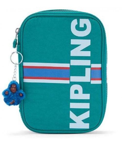 Estojo Kipling 100 Pens - Pine Green Str