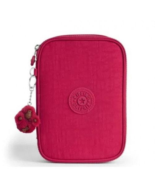 Estojo Kipling 100 Pens - True Pink