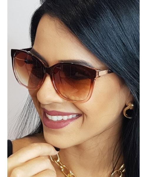 Óculos de Sol Marcapasso - Lente Quadrada e Armação de Acrílico