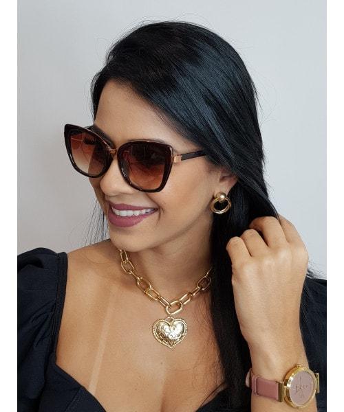 Óculos de Sol Marcapasso - Quadrado Oversized
