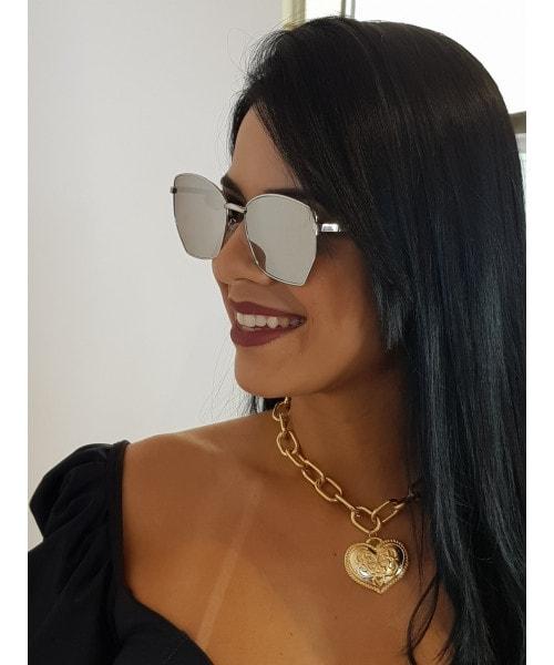 Óculos de Sol Marcapasso - Quadrado Espelhado