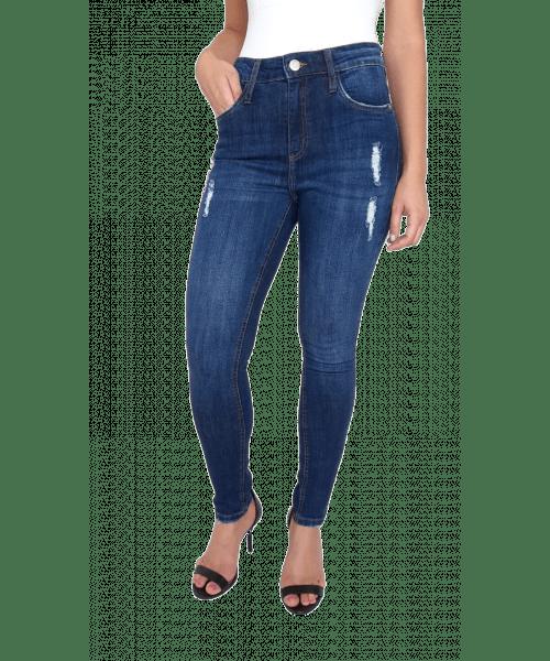 Calça Código Teen Skinny Moletom com Lycra