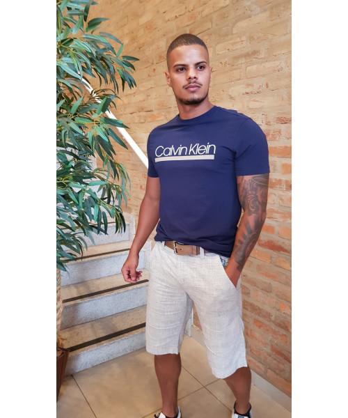 Camiseta CALVIN KLEIN 01 - Marinho