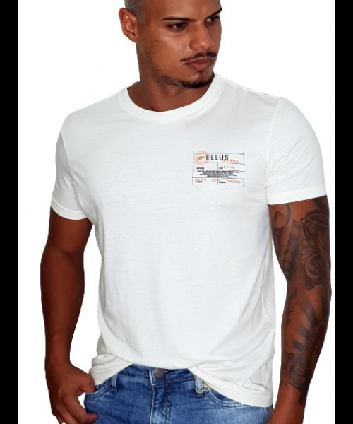 Camiseta ELLUS Tag Classic - Off White