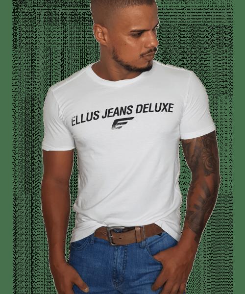 Camiseta Ellus Jeans Deluxe - Branca