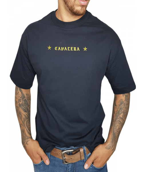 Camiseta Cavalera  Burn Babylon - Preto