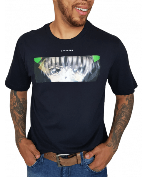 Camiseta Cavalera Holograma - Preto
