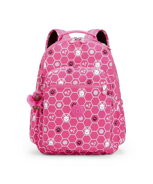 Mochila KIPLING Gouldi - Pink Dog Tile