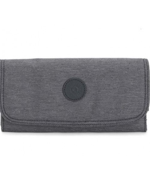 Carteira Kipling Money Land - Charcoal