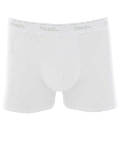 Cueca Mash Boxer Cotton  - Branca BR00