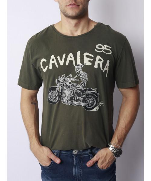 T- Shirt CAVALERA Motoskull