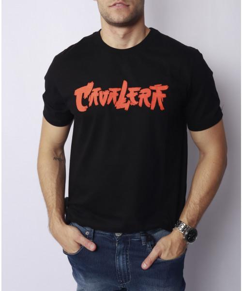 T-Shirt CAVALERA Ninja Lettering
