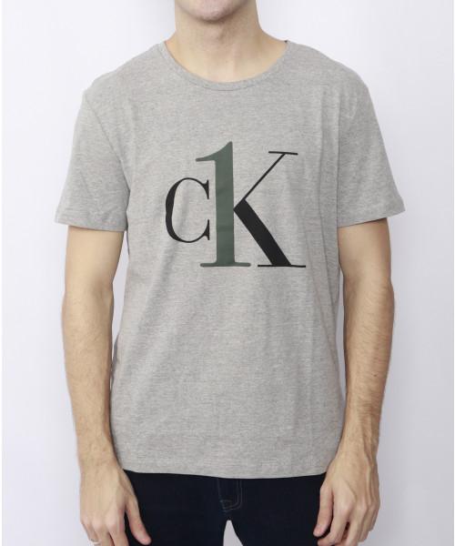 Camiseta CALVIN KLEIN 04 - Cinza