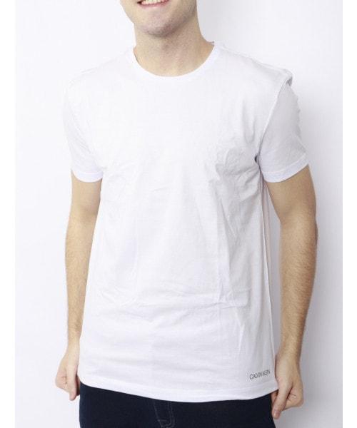 Camiseta CALVIN KLEIN Básica - Branco