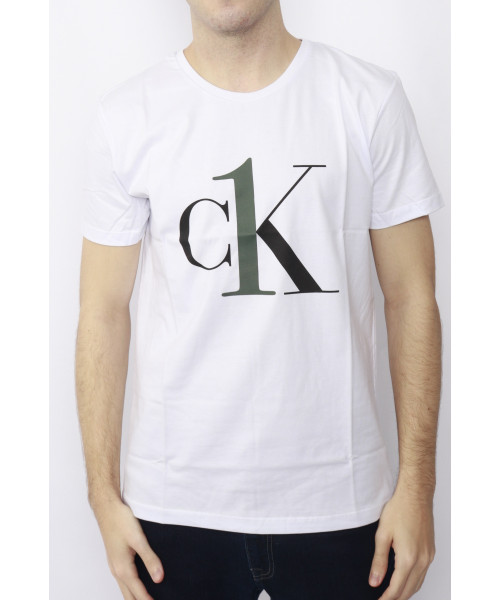 Camiseta CALVIN KLEIN 04 - Branco