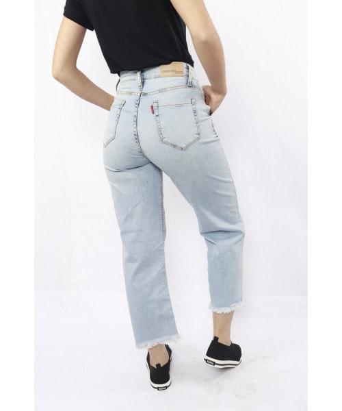 Calça Pantacourt Código Teen - Jeans Claro