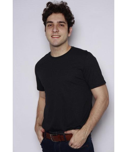 Camiseta Básica - Preto