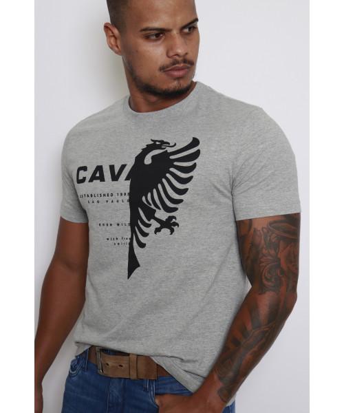 Camiseta Cavalera Águia - Cinza