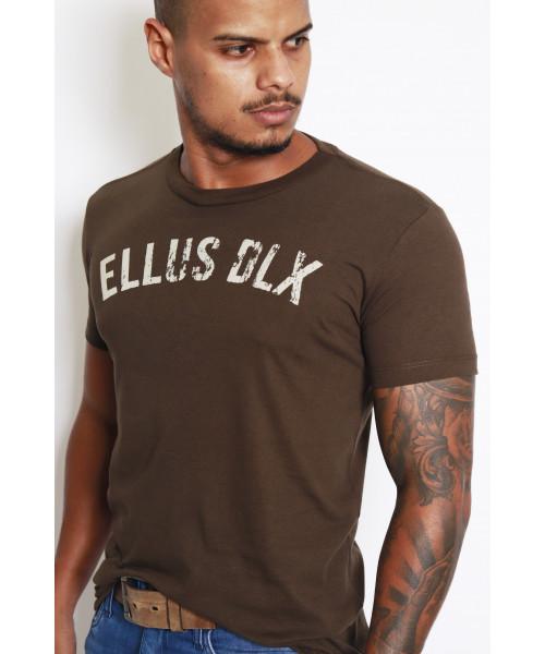 Camiseta Ellus DLX - Marrom