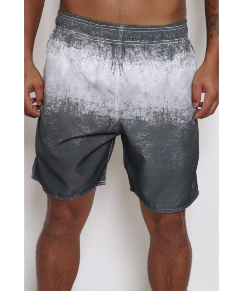 Shorts In Surf - Cinza manchado