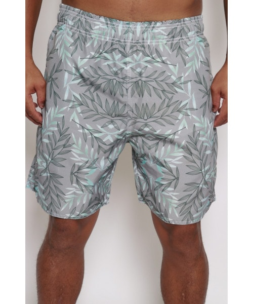 Shorts In Surf - Cinza florido