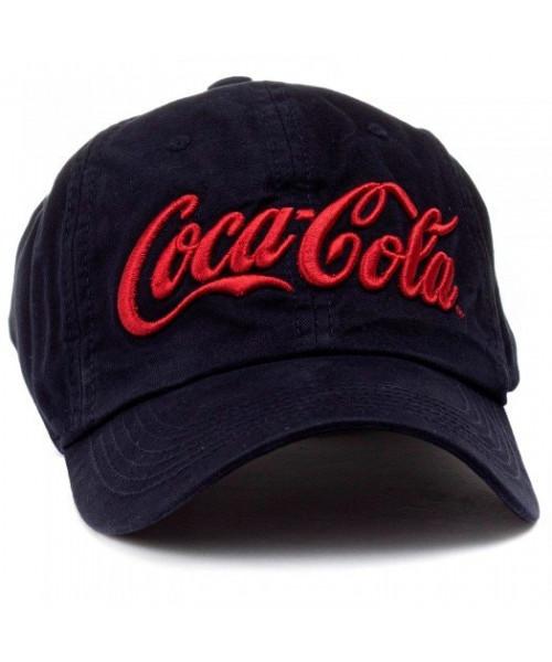 Boné Coca Cola Bordado - Preto