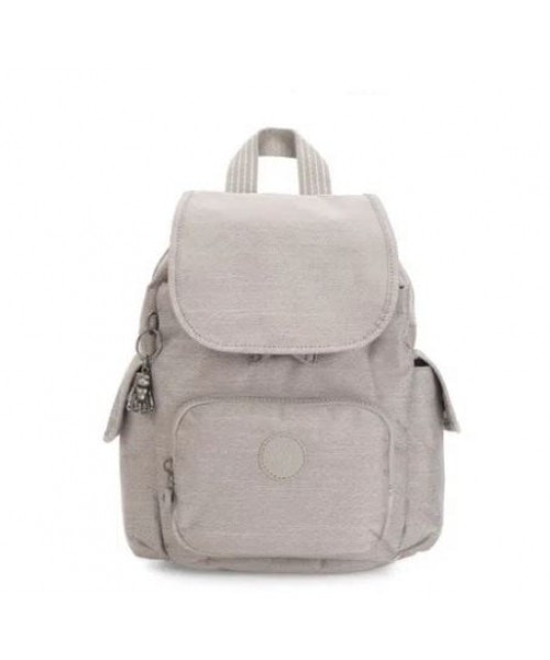 Mochila KIPLING City Pack S - Grey Beige Pep