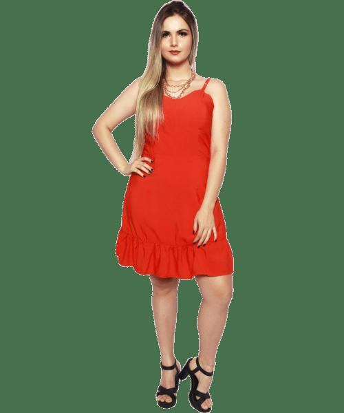 Vestido Fidelidáh - Laranja
