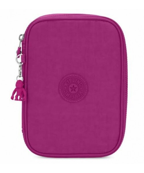 Estojo Kipling 100 Pens - Bright Pink