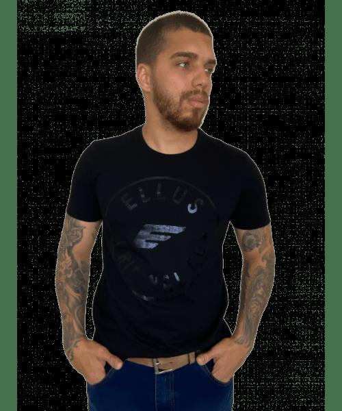 Camiseta Ellus Originals Foil Classic - Preta