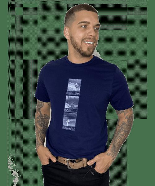 Camiseta Sea South Surf - Azul Marinho