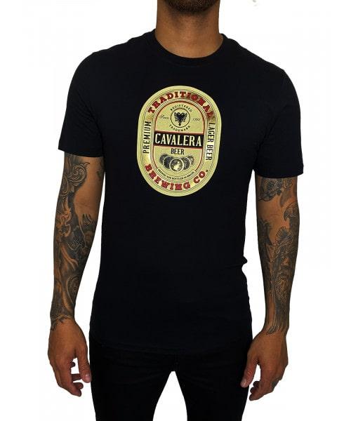 Camiseta Cavalera Cerveja - Preta