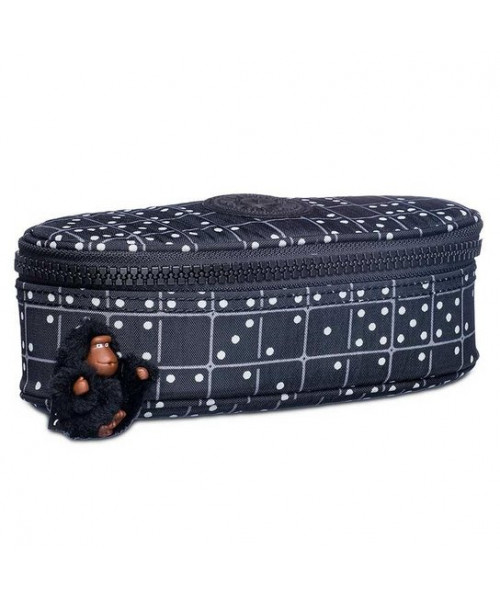 Estojo Kipling Duobox - Black Matrice