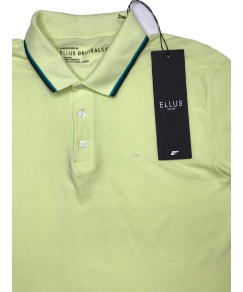 Polo ELLUS Com Friso - Verde Lima