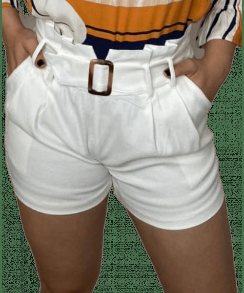 Shorts Emporium Bengaline - Branco