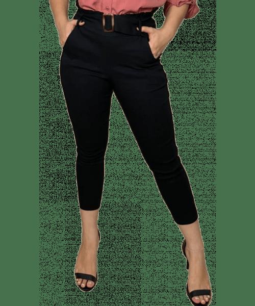 Calça Emporium Bengaline Skinny - Preto